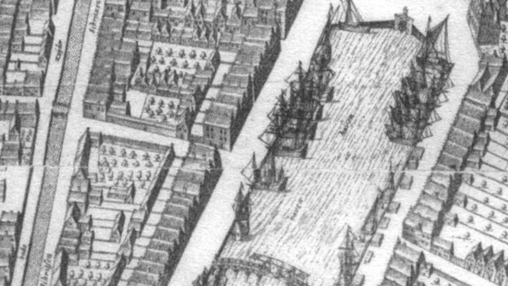 Harlingen in 1610